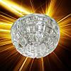 Встраиваемый светильник Feron JD87 c LED подсветкой RGB 27983