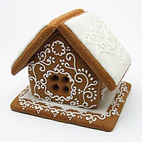 """Пряничный домик - """"Новогодний"""" маленький 3D"""