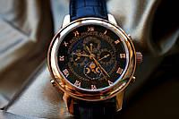 Мужские механические часы Patek Philippe Sky Moon Tourbillon Gold (Патек Филипп Скай Мун)