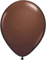 Воздушные шары  латексные коричневые 30 см.