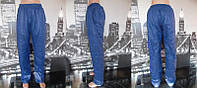 Женские утепленные штаны синие