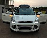 DRL штатные дневные ходовые огни LED- DRL для Ford Kuga 2013+V1