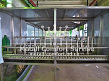 Роликовый конвейер для линии розлива воды в бутыли 18,9 литров
