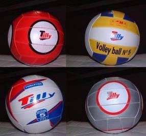 Мяч волейбол BT-VB-0001 Tilly-3 PVC 250г 4цв.ш.к./80/