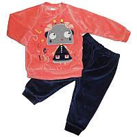 Костюм для девочки 62-74 кофта+штаны арт.2215