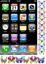 Вафельная картинка Телефоны и планшеты 6
