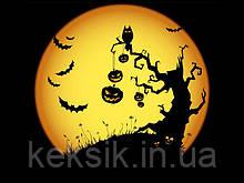 Вафельная картинка Halloween 4