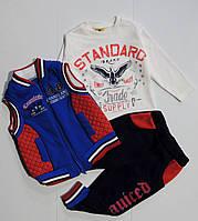 Спортивный  костюм на флисе для мальчика 1,2,3 года