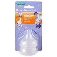 Соска для естественного кормления Lansinoh Natural Wave L быстрый поток 2 шт (75920)