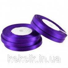 Лента Атласная Темно-фиолетовая 0,5см 23м