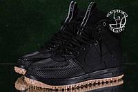 Спортивные кроссовки Nike Lunar Force 1 - Чисто Черные