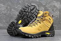 Мужские ботинки Timberland. Кожа Мех 100% Желтые