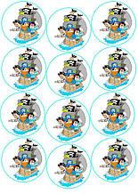 Вафельная картинка для Cupcake Пираты 2