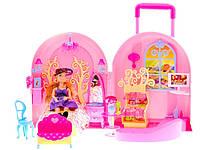Сказочный домик для кукол барби переносной