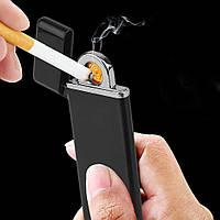 USB зажигалка электроимпульсная, фото 1