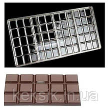 Молд поликарбонатный Плитка шоколада