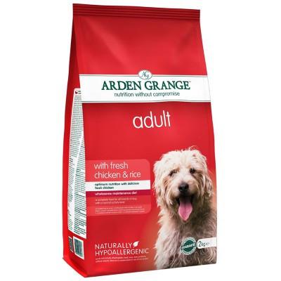 Arden Grange ADULT DOG Chicken & Rice 2 кг - корм для собак