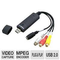 Easycap USB Video Видео-Аудио TV DVD VHS Capture Adapter видеозахват для оцифровки видеокассет