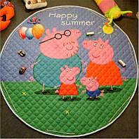 Игровой коврик-мешок Peppa Happy Summer Berni