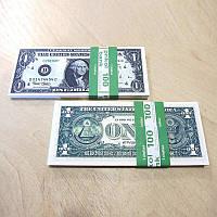 Сувенирные деньги 1$ (арт. USD-1)