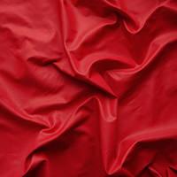 Плащевая ткань (плащевка) лаке  - цвет красный