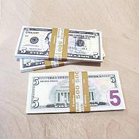 Сувенирные деньги 5$ (арт. USD-5)