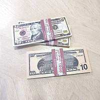 Сувенирные деньги 10$ (арт. USD-10)