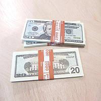 Сувенирные деньги 20$ (арт. USD-20)