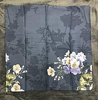Наволочка 70х70 c цветами ткань сатин