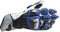 Мотоперчатки RS TAICHI GP-EVO кожа синий XL