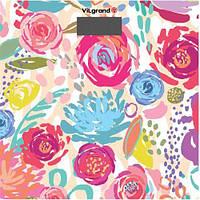 Весы напольные VILGRAND VFS-1828 цветы