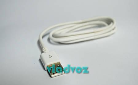 Кабель micro USB Galaxy, S4, S3, Note 2 быстрый белый, фото 2