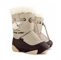 Обувь детская зимняя Демар LITTLE LAMB бежевый Размер:20-29