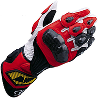Мотоперчатки RS TAICHI GP-WRX кожа красный XL
