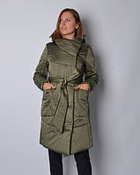Куртка удлиненная из атласа , фото 1