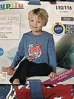 Пижама детская на мальчика Lupilu 4-6 лет