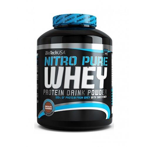 Сывороточный протеин BioTech - Nitro Pure Whey (2270 грамм) caramel-cappuccino/карамель-капучино
