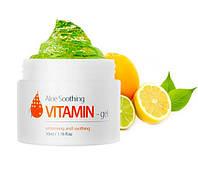Витаминный гель с алоэ для осветления пигментации кожи SKIN HOUSE Aloe Soothing Vitamin Gel, оригинал