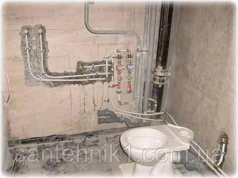 Замена водопроводных труб Киев. Замена водопроводные трубы киев. Заменить трубы водопровода., фото 2