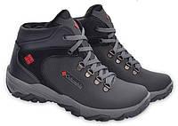 Мужские кожаные зимние ботинки Yavgor Legend black