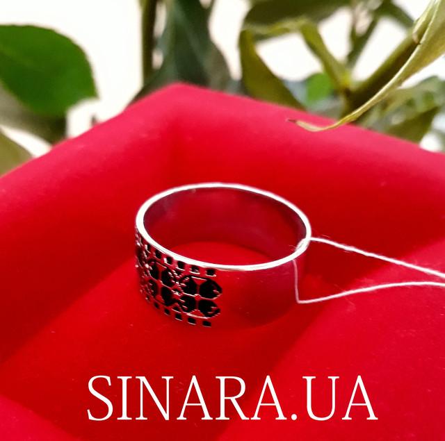 Каблучка з Тризубом - Кольцо Тризуб серебро - Тризубец кольцо Герб Украины фото 5