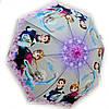 Зонт детский силиконовый Холодное сердце
