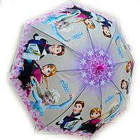 Зонт детский силиконовый Холодное сердце, фото 1
