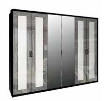 шкаф Виола 6 Д с зеркалами