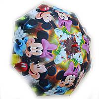 Зонт детский силиконовый Микки и Минни