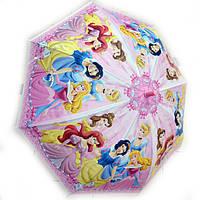 Зонт детский силиконовый Принцессы, фото 1