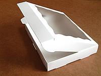 Коробка для кондитерских изделий 20х30х3 см Белый