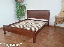 """Кровать """"Падини"""" (190*150). Массив дерева - ольха, покрытие № 11."""