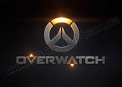 Картина 60х40см Овервотч Overwatch логотип