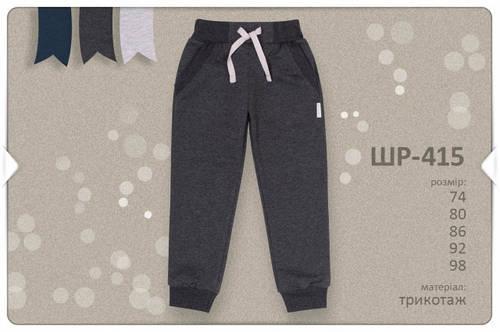Спортивные штаны для мальчика ШР415 Бемби